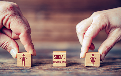 social distancing cubes